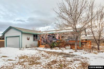 Reno Single Family Home Active/Pending-House: 11830 Pepper Way