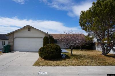 Carson City Single Family Home For Sale: 2472 Ravenshorn Drive