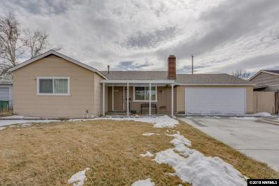 Sparks Single Family Home Active/Pending-Loan: 1225 Russell Way