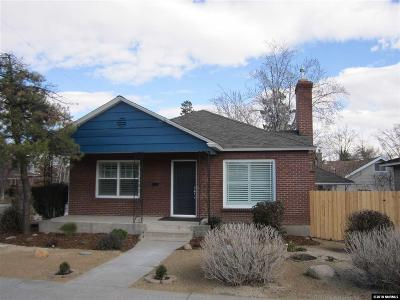 Reno Single Family Home For Sale: 1306 S Arlington