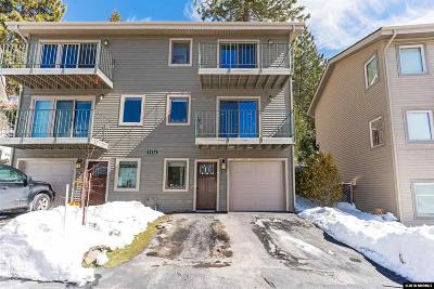 Zephyr Cove Condo/Townhouse Active/Pending-Loan: 1314 Cave Rock Drive #B