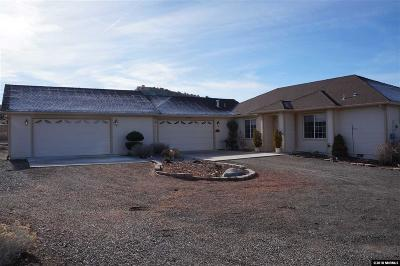 Gardnerville Single Family Home Active/Pending-Loan: 2039 Fish Springs Road