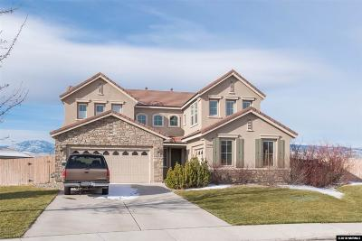 Reno Single Family Home For Sale: 2640 Mule Circle