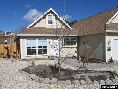 Carson City Single Family Home Active/Pending-Loan: 1540 Chimney Dr