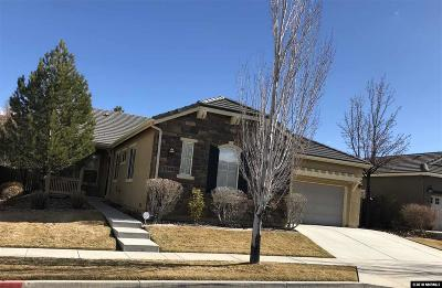 Reno Single Family Home Price Reduced: 1940 Morning Grove Ct