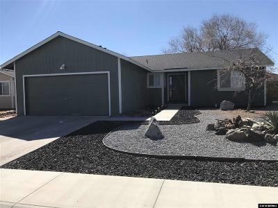 Fernley Single Family Home Active/Pending-Loan: 595 Nader Way