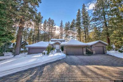 Incline Village Single Family Home For Sale: 595 Putter Ct.