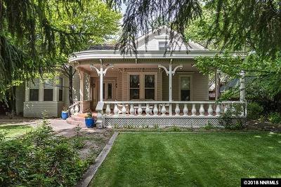 Carson City Single Family Home New: 310 Mountain Street