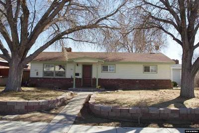 Sparks NV Single Family Home Back On Market: $292,000