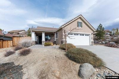 Reno Single Family Home New: 9275 Hidden Park