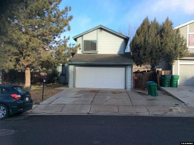 Reno Single Family Home New: 2339 Melody Ln