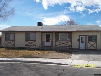 Fallon Single Family Home Active/Pending-Loan: 1021 Angela Ct