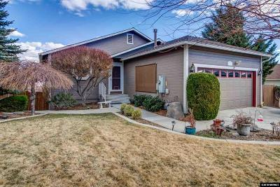 Reno Single Family Home For Sale: 712 Talus Way