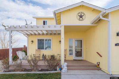 Fernley Single Family Home For Sale: 212 Jimmys Peak