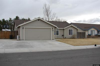 Fernley Single Family Home New: 1557 Reese River Rd