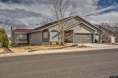 Fernley Single Family Home New: 1118 Dixie