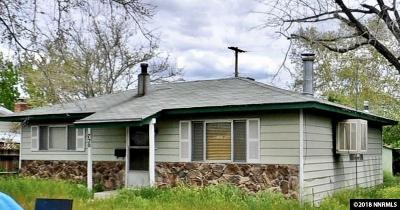 Washoe County Single Family Home Active/Pending-House: 720 Bates Ave