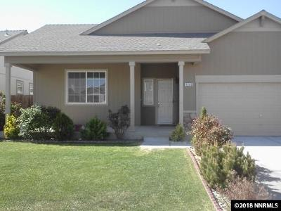 Fernley Single Family Home New: 1295 Mountain Rose