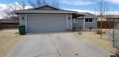 Fernley Single Family Home Active/Pending-Loan: 403 Suzanne