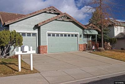 Reno Single Family Home New: 4766 Village Green Parkway