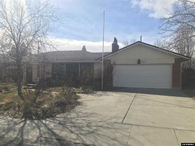 Washoe County Single Family Home Active/Pending-Call: 1155 Sharon Way