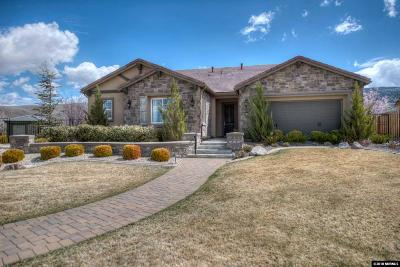 Reno Single Family Home For Sale: 10000 Gold Cup Ln #Trapani
