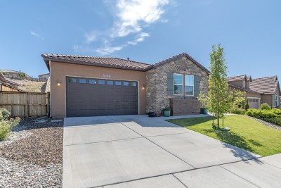 Sparks Single Family Home For Sale: 5396 Desertstone Drive