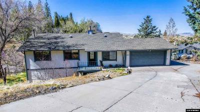 Reno Single Family Home For Sale: 2371 Camelot Way