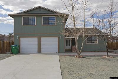 Sparks Single Family Home For Sale: 17 S Spring Mountain Circle