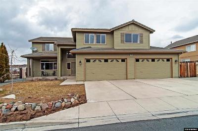 Washoe County Single Family Home Active/Pending-Loan: 4670 Edmonton Drive