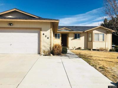 Fernley Single Family Home Active/Pending-Loan: 624 Shadow Lane