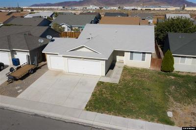 Fernley Single Family Home For Sale: 2178 Snow Drift
