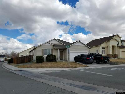 Fernley Single Family Home For Sale: 1501 Crestview
