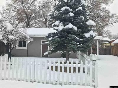 Sparks Single Family Home Active/Pending-Call: 1055 I Street