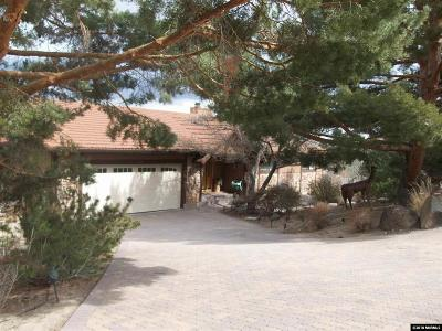 Washoe County Single Family Home Active/Pending-Loan: 2363 Camelot Way