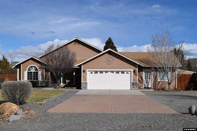 Gardnerville Single Family Home Active/Pending-House: 637 Clydesdale Court