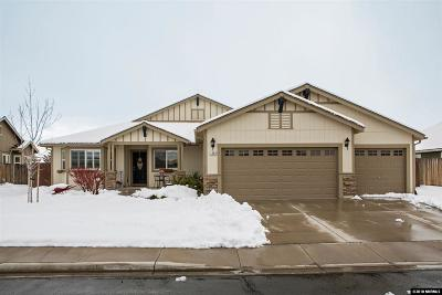 Sparks Single Family Home Active/Pending-Loan: 1282 Bellatrix Way