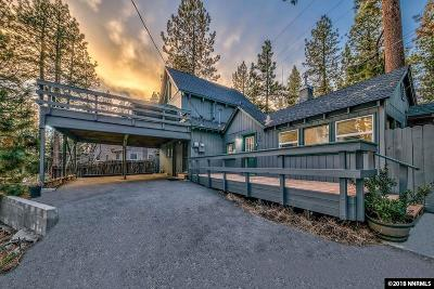 Zephyr Cove NV Single Family Home New: $925,000