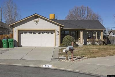 Washoe County Single Family Home Active/Pending-Loan: 946 Yellow Rose