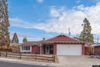 Washoe County Single Family Home New: 2225 Arcane Ave