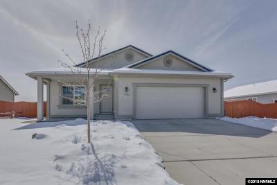 Washoe County Single Family Home New: 18267 Grizzly Bear Ct