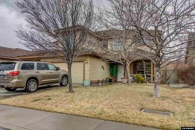 Washoe County Single Family Home New: 9550 Apache Rose Drive
