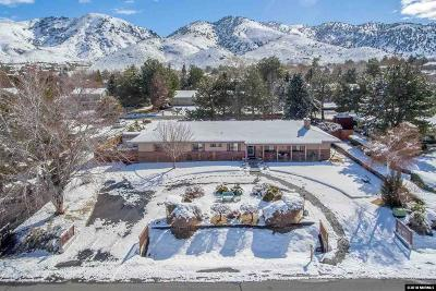 Washoe County Single Family Home New: 4600 E Hidden Valley