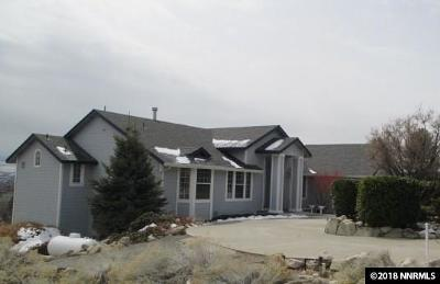 Washoe County Single Family Home New: 5520 High Rock