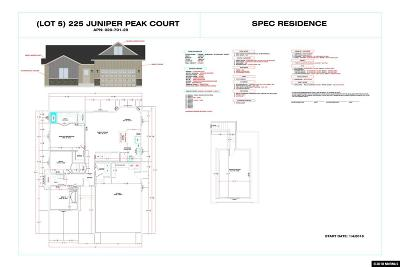 Fernley Single Family Home New: 225 Juniper Peak Ct