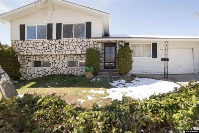 Washoe County Single Family Home New: 1451 Surf Way