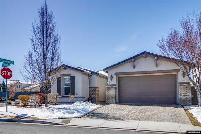 Washoe County Single Family Home New: 490 Roseben Ct