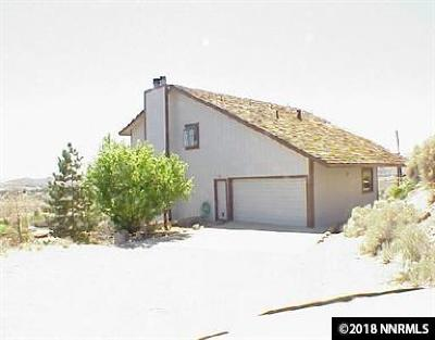 Reno NV Single Family Home Back On Market: $225,000