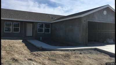 Fernley Single Family Home New: 1320 Shadow