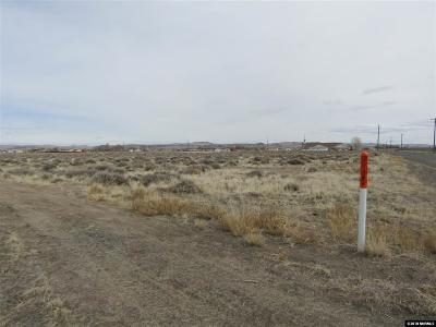 Silver Springs NV Residential Lots & Land For Sale: $70,000